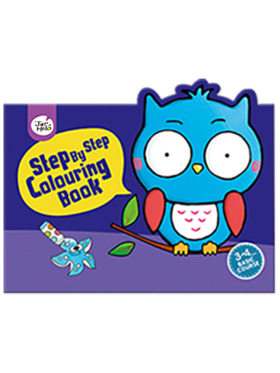 Joan Miro Step by Step Colouring Book - 3-4 Years Basic Course