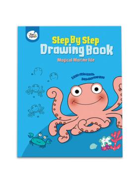 Joan Miro Step by Step Drawing Book - Magical Marine Life