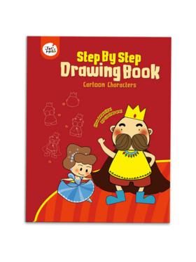 Joan Miro Step by Step Drawing Book - Cartoon Characters