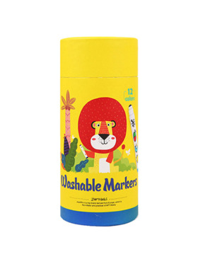 Joan Miro Special Round Tip Washable Markers (12 Colors)