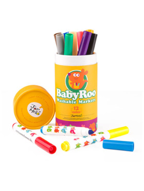 Joan Miro Washable Markers - Baby Roo (12 Colors)