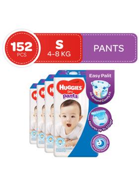 Huggies Dry Pants Small (38s) Bundle of 4