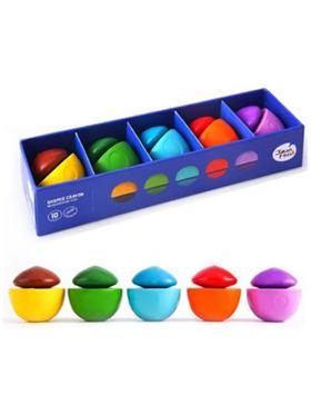 Joan Miro Shaped Crayons - Mushroom Top