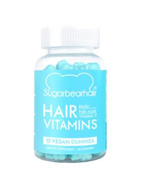 SugarBear Hair Vitamins 1-Month Supply (60 Gummies)
