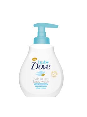 Baby Dove Hair To Toe Wash Rich Moisture (200ml)