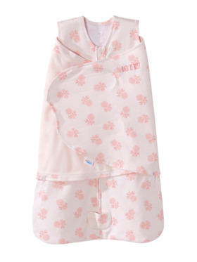 Halo Watercolor Rose Swaddle