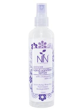 Nature to Nurture Plant-Based Hand Sanitizer Lavender (250ml)