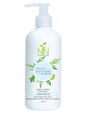 Nature to Nurture Plant-Based Hand Soap Fragrance Free (300ml)