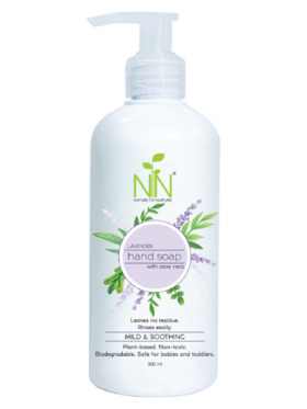 Nature to Nurture Plant Based Hand Soap Lavender (300ml)
