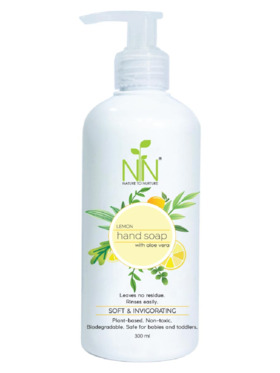 Nature to Nurture Plant Based Hand Soap Lemon (300ml)