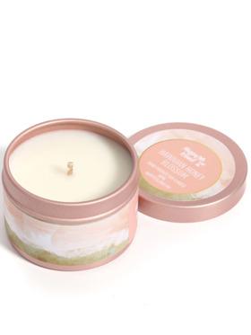 Happy Island Hawaiian Honey Blossom Soy Candle (2oz)