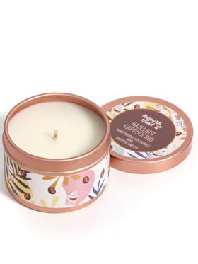 Happy Island Hazelnut Cappuccino Soy Candle (2oz)