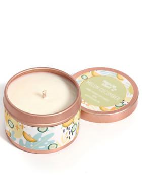 Happy Island Melon Cucumber Soy Candle (2oz)