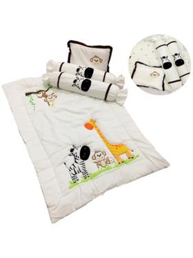 Kozy Blankie Happy Zoo Comforter Set