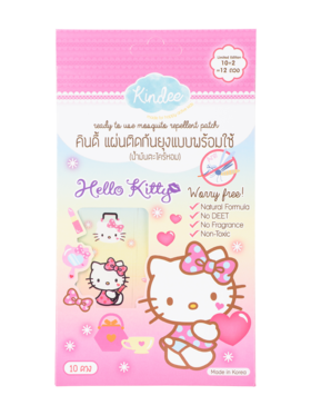 Kindee Mosquito Repellent Hello Kitty Patch