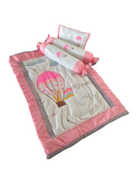 Kozy Blankie Hot Air Balloon Comforter Set