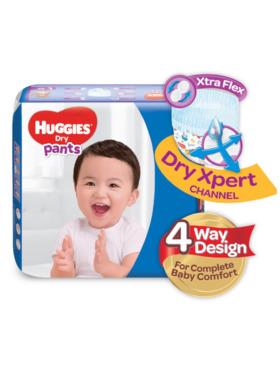 Huggies Dry Pants Large (68s)