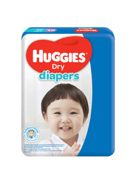 Huggies Dry Diapers XL (60s)