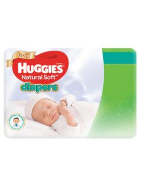 Huggies Natural Soft Newborn (24s)