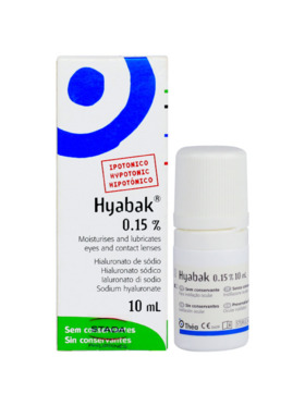 Hyabak Hyabak 0.15% (10ml)
