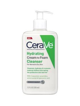 CeraVe Hydrating Cream to Foam Cleanser (355mL)