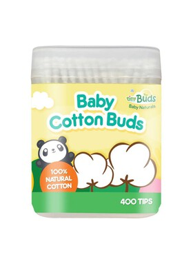 Tiny Buds Baby Cotton Buds (Spiral & Round Dual Tips)
