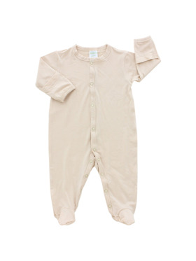 Bamberry Baby Bamboo Footed Romper