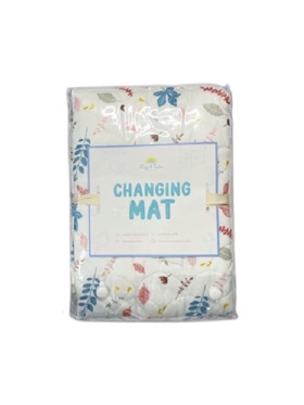 Lily and Tucker Floral Diaper Changing Pad (70x100cm)