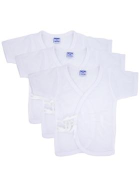 BestCare Infant Short-sleeve Tie-Side Pack of 3