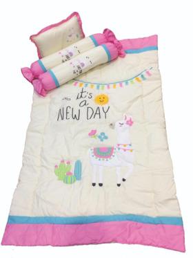 Kozy Blankie It's a New Day Baby Comforter Set