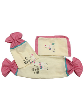 Kozy Blankie It's a New Day Pillow Case and Bolster Case