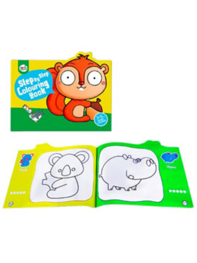 Joan Miro Step by Step Colouring Book - 2-3 Years Basic Course