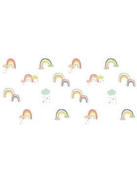 Juju Nursery Color Rainbows Wall Decals Nursery Stickers