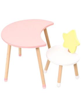 Juju Nursery Moon and Star Table and Chair Set