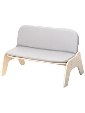 Juju Nursery PU Leather Cushioned Sofa Double Bench