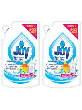 Joy Baby Bottle Wash Refill (600ml) Set of 2