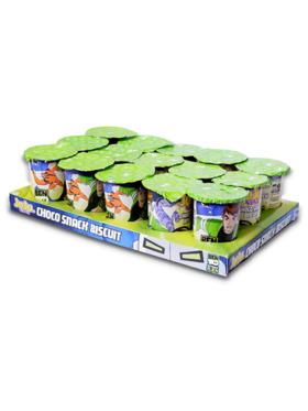 Juju Ben 10 Choco Snack with Chocolate Cream 8g (4-Pack)