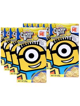 Juju Minions Cracker Bites Banana 35g (12-Pack)