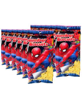 Juju Marvel Spiderman Number Biscuit 95g (12-Pack)