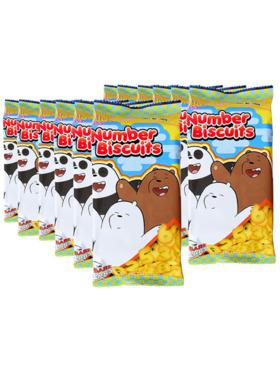 Juju We Bare Bears Number Biscuit 95g (12-Pack)