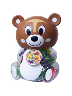 Jujuku Fruit Flavored Jelly - Squirrel (800g)
