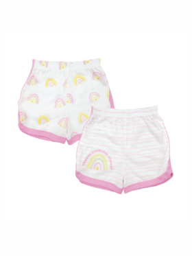 Looms Kindness Collection Girls Shorts (2pcs)