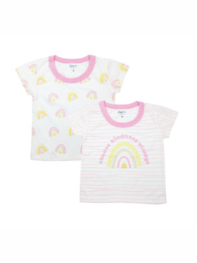 Looms Kindness Collection Girls T-Shirt (2pcs)
