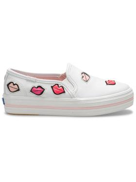 Keds Big Kid's Keds x Kate Spade New York Triple Decker Lips Sneakers