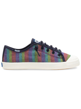Keds Big Kid's Kickstart StripeToe Cap Sneakers