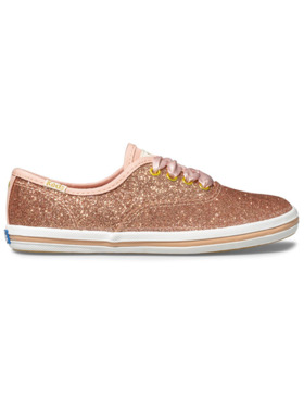 Keds Big Kid's Keds x Kate Spade New York Champion Glitter Sneakers