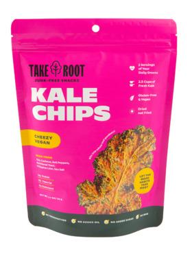 Take Root Vegan Cheeze Kale Chips (60g)