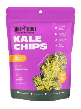 Take Root Garlic Bread Kale Chips (60g)