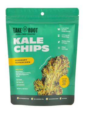 Take Root Rosemary Peppercorn Kale Chips (60g)