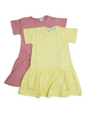 Clovermint Kids Dress with Sleeves